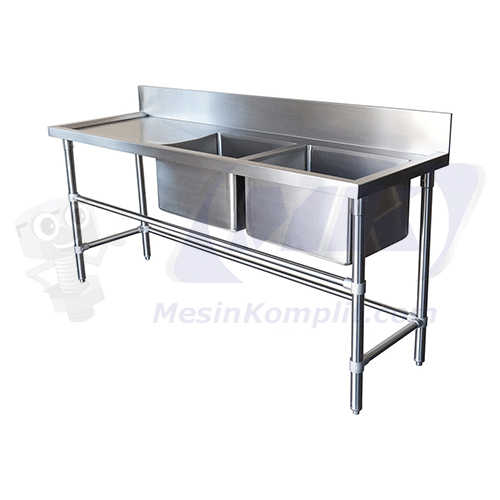 Sink Cuci Stainless Doubl...